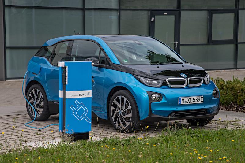 Ein Beispiel aus der deutschen Elektroflotte / Quelle: BMW